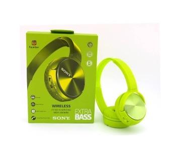 wireless Green headphone