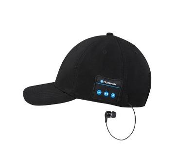 Black Bluetooth headphone