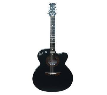 semi Electric signature guitar  - Black