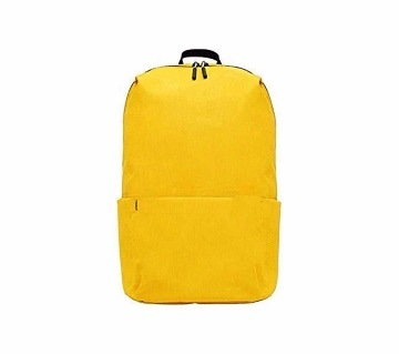 Yellow college bag