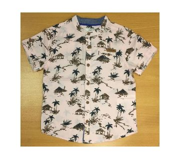 Baby Boy Fashion Shirt -tree printed