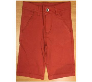 Boys short pant -red