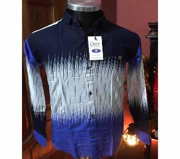 Gents full sleeve  casual shirt code 2KJIHUYJUH
