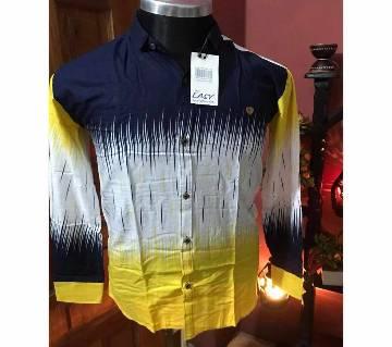 Gents full sleeve  casual shirt code 2HGFYUI