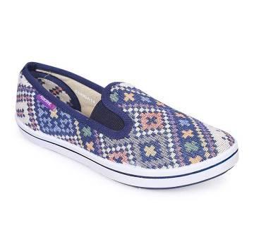 Sprint Blue Ladies Walking Shoe