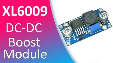 XL6009 DC-DC Step Up Boost Module