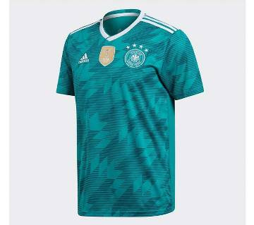 World Cup 2018 Germany Teal Half Sleeve Jersey