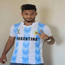 World Cup 2018 argentina Half Sleeve Jersey Copy
