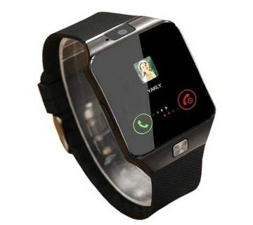 Smart Watch DZ-09 Single SIM Supported and Bluetooth Pair Mate Mobile Watch