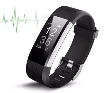 """ID115 Plus Smart Bracelet Bluetooth Fitness Activity Tracker Heart Rate Monitor """