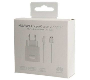 """Huawei Fast Charger with USB Cable ( Type C ) """