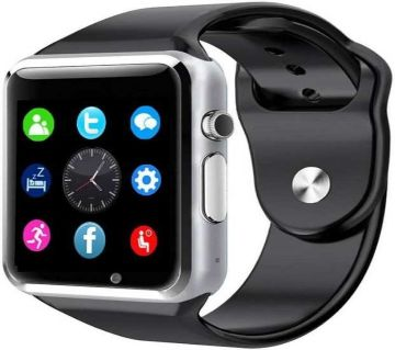 A1 Mobile SIM Supported Smart Watch With Camera and Bluetooth Pair Mate