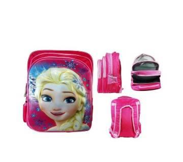 Disney frozen princess Backpack school bag for girls