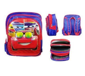 Disney cars backpack school bag for kids