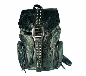 PU leather ladies back pack