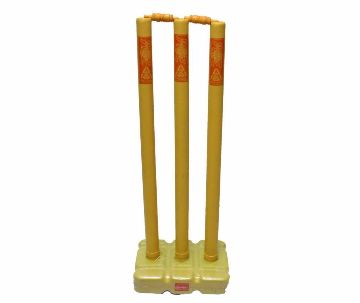 Cricket Plastic Stumps Stand Set