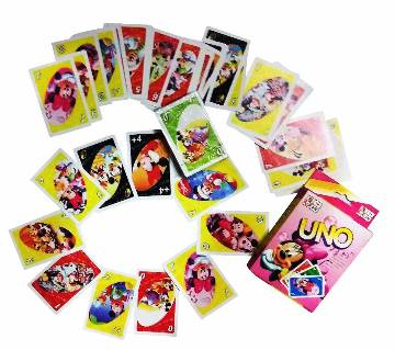 Uno card Mickey Mouse