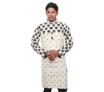 Menz Cotton Casual Long Panjabi