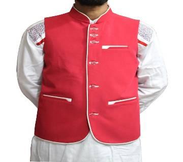 Waistcoat/ Red KOTI For man