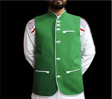 Waistcoat/ Green KOTI For man