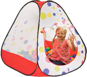 Play Tent House 100Ball Outdoor Play Tent, Easy Travel and Storage, Great Gift Idea.