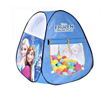 Frozen Tent House With 50 Ball - Blue
