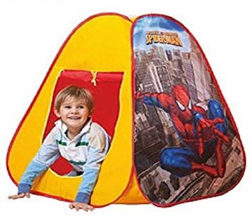 Spiderman Tent Play House with 50 Balls - Multi-color