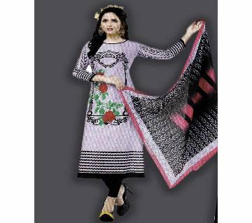 Unstitched Cotton Salwar Kameez (Silver Long Three Piece) pakiza-13.2