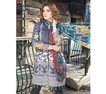 MORJA Unstitched Pakistani Lawn Salwar Suit