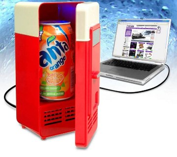 Portable USB Beverage Warm Cool Mini Refrigerator
