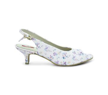 Bata Grace Floral Kitten Heel for Women - 6615917