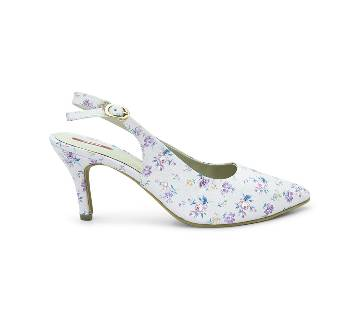 Bata Grace Floral Pointed-Toe Heel for Women - 7615904