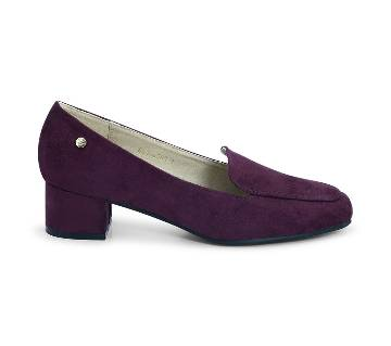 Bata Maroon Pump Shoe for Women - 6515590