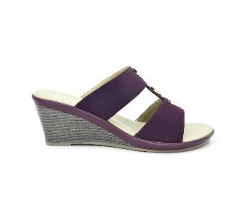 Bata Comfit Low-Heel Wedge Sandal for Women - 7715268