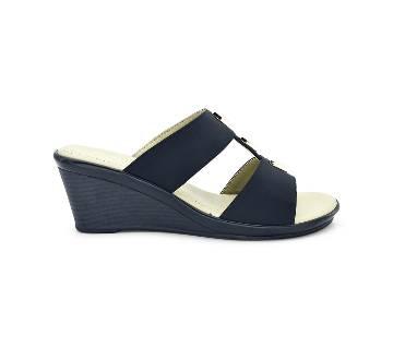 Bata Comfit Low-Heel Wedge Sandal for Women - 7716268