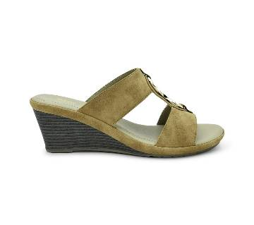 Bata Comfit Low-Heel Wedge Sandal for Women - 7714267