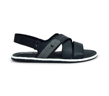 Bata Black Sandal for Men - 8646537