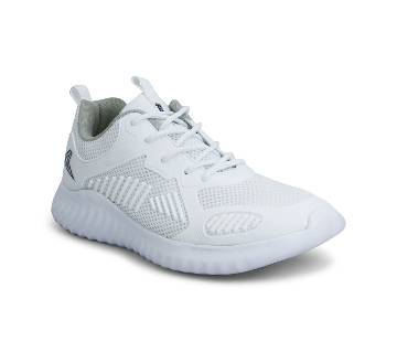Alter White Sporty Sneakers by Power (Bata) - 8381156