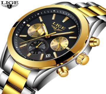 LIGE Gents Wrist Watch