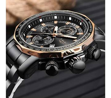 LIGE Chronograph Gents Watch