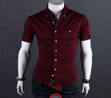 Gents Half Sleeve Causal Shirt