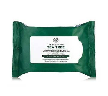 The Body Shop Tea Tree Skin Clearing Facial Wipes - UK