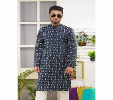 LAVELUX Boishakhi Printed Long Cotton Punjabi