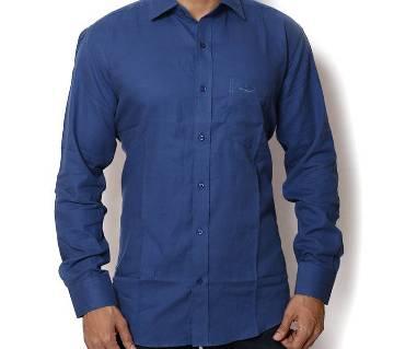 Gents Blue Formal Shirt