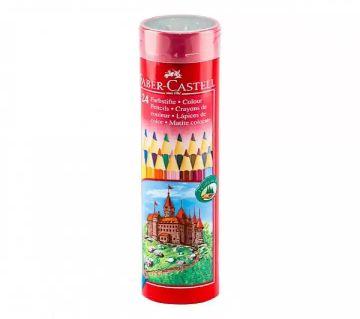 Faber-Castell Classic Color Pencils (Round Tin) - 24 Pcs