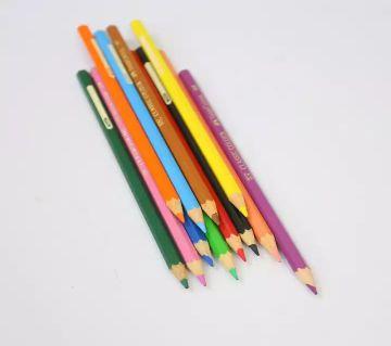 Faber-Castell Classic Color Long Pencils -12 Pcs