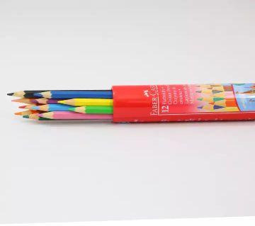 Faber-Castell Classic Color Pencils (Round Tin) - 12 Pcs
