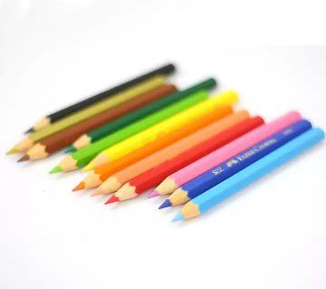 Faber-Castell Classic Color Short Pencils - 12 Pcs