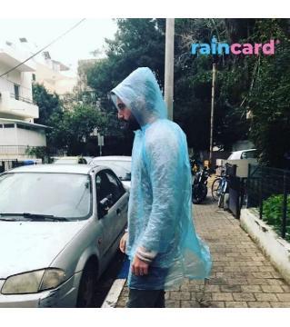 Rain Card Pocket Rain Coat (Credit Card Size)