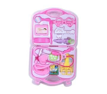 Exclusive Plastic Doctors Toy Set - Pink